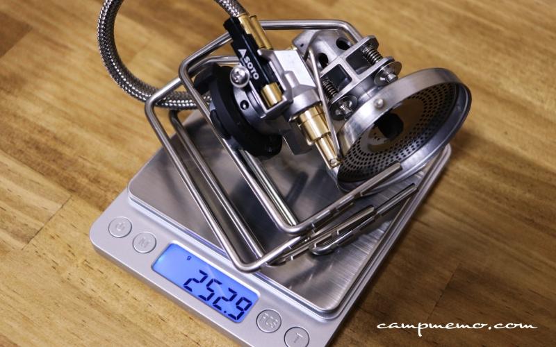 SOTO フュージョン ST-330の製品重量