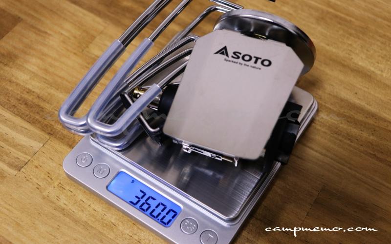 SOTO ST-310の製品重量