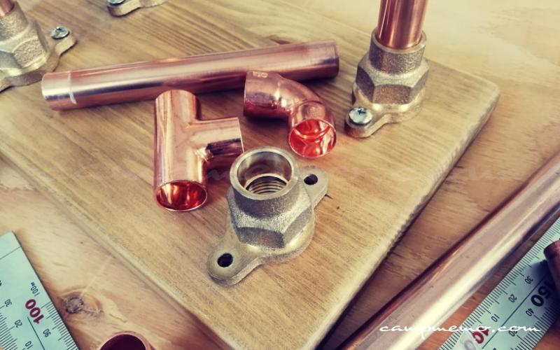 ドリップスタンドを作る銅管材料