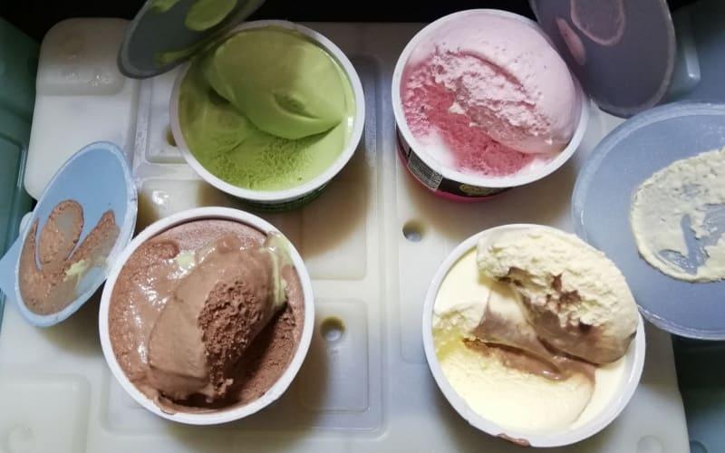 24時間後のアイスクリーム