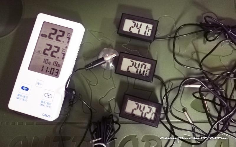 温度センサーの誤差