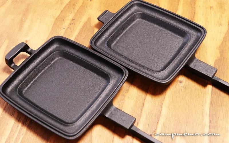 OIGENのホットサンドクッカーは2つに分離できる