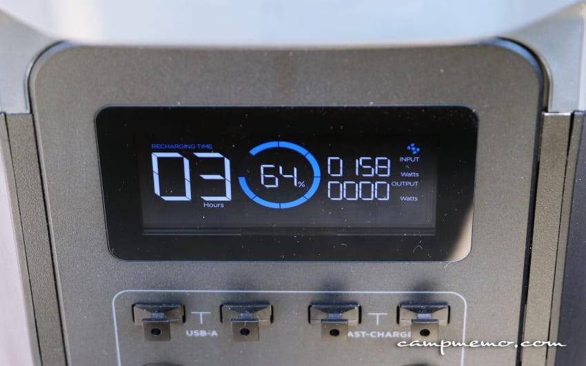EcoFlowとsuaokiのソーラーパネルの入力電力
